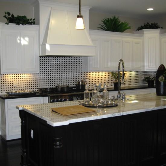 Black and White Kitchen Classic