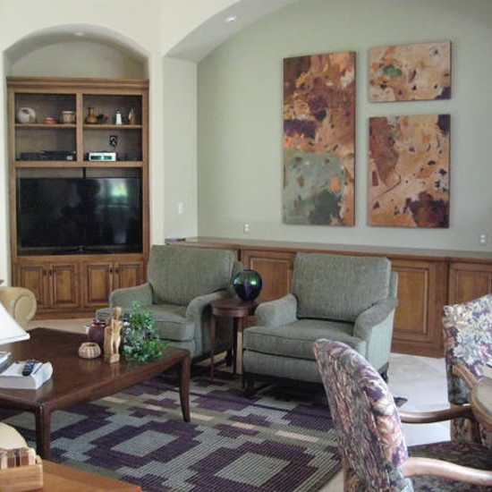 Coordinate your interior to your artwork