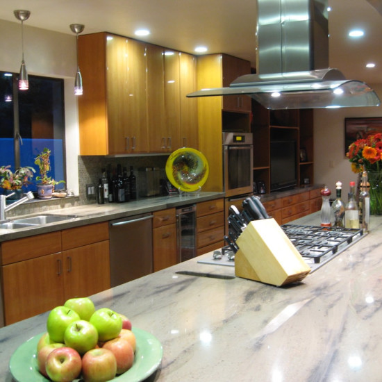 Contemporary kitchen, Carmel Valley